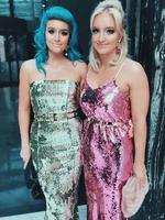 The 2016 ARIA Awards via social media ... Amy and Emma Sheppard. Picture: Instagram
