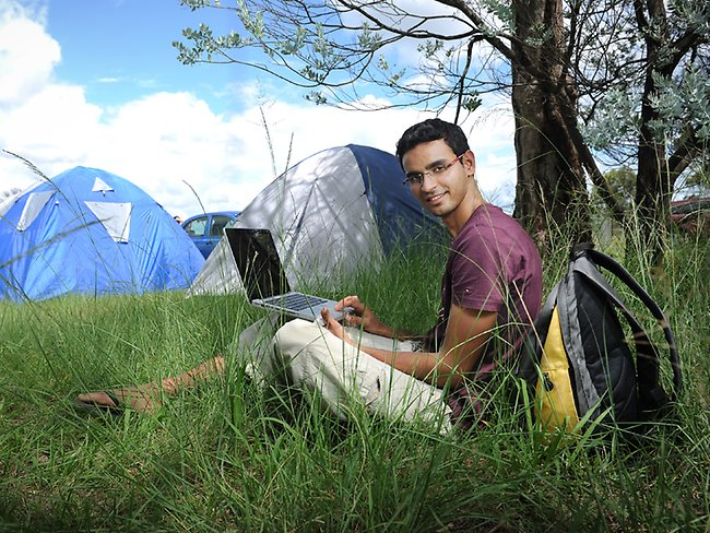 Arshad Ali, 25, is waiting for a new place to call home. Picture: Melvyn Knipe