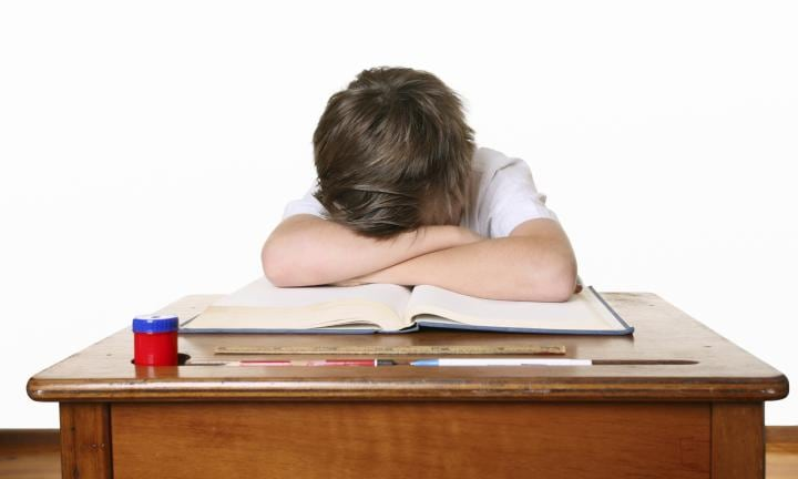 Easing school test anxiety