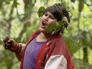 Julian Dennison in a scene from New Zealand film Hunt for the Wilderpeople