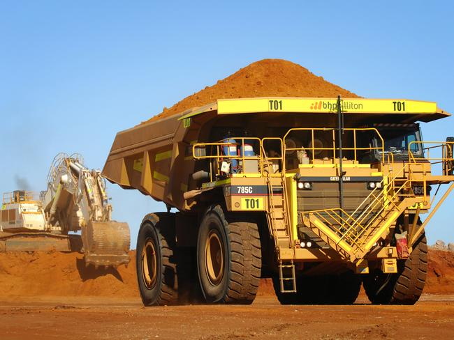 Looking back ... the mining boom in Australia has changed our lives. Picture: AAP