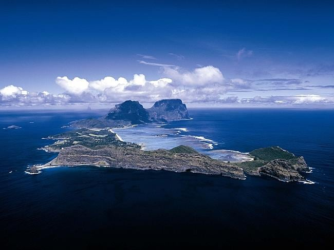 Beautiful Lord Howe Island. Picture: Supplied