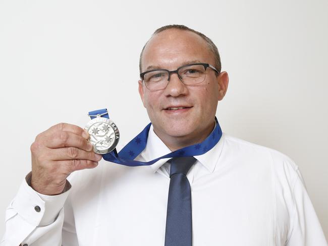 Pride of Australian Medal winners Josh Wilkins. Picture: David Caird