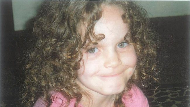Kiesha Weippeart, 6, who was murdered by her mother Kristie Abrahams in 2010.