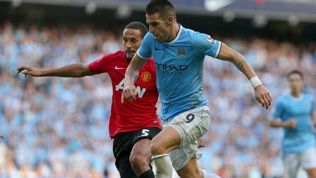 Alvaro Negredo will be playing in more Manchester derbies after all.