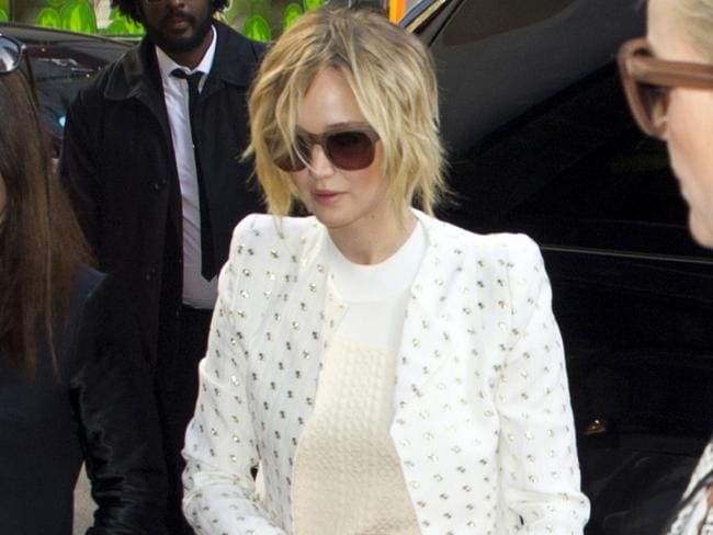 "Jennifer Lawrence's publicist called the theft ""a flagrant violation of privacy""."