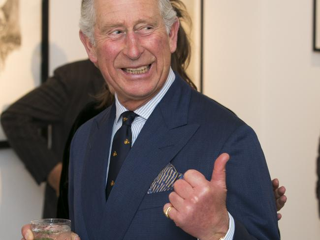 Thumbs up ... Prince Charles will deliver a keynote speech at next week's United Nations conference on climate change. Picture: John Phillips — WPA Pool/Getty Images