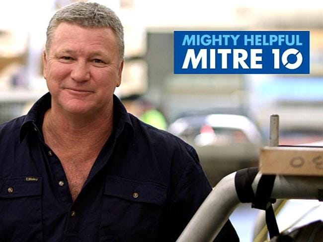 Host Scott Cam has been a brand ambassador for Mitre 10 for years.