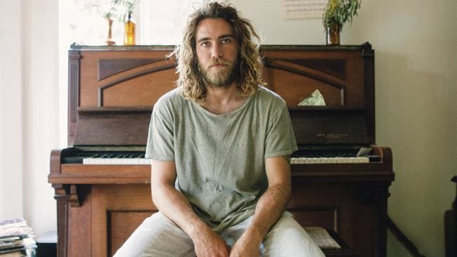 Multi-instrumentalist: Corby rented a house and filled it with instruments to make debut album Telluric. Picture: Supplied / Universal Music Australia
