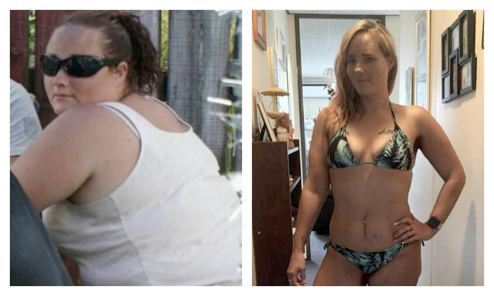 How this mum lost 60kg without doing any exercise