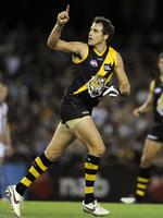 Richardson kicked 800 goals in his glittering career. Picture: Herald Sun