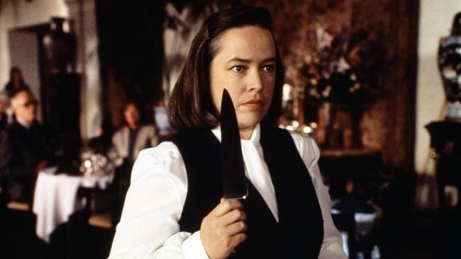 Kathy Bates in Misery.