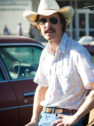 Matthew McConaughey as Ron Woodroof.