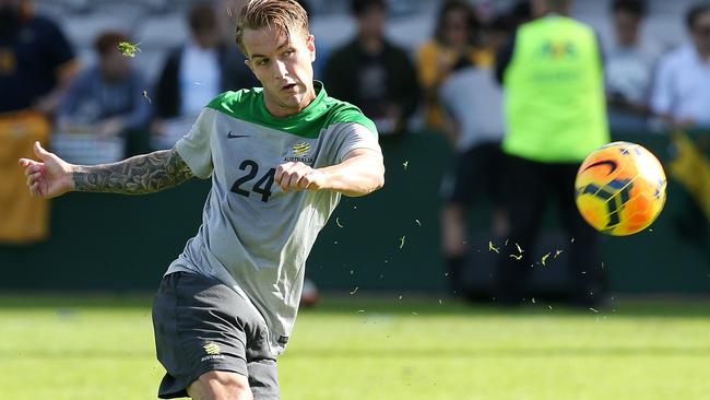 Adam Taggart hopes to secure a permanent spot in the Socceroos line-up.