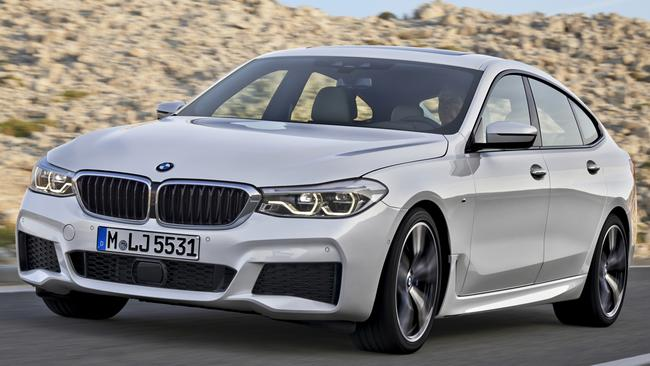 The 6-Series is based on the 5 Series sedan. Pic: Supplied.