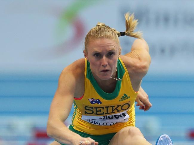 Dare ya to tell Sally Pearson the Comm Games are for wusses. (Photo by Julian Finney/Getty Images)