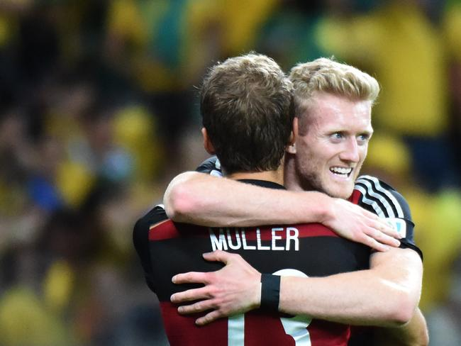 Thomas Mueller and Andre Schuerrle have been excellent in front of goal for Germany.
