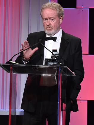 Director Ridley Scott was reportedly at the hotel party. Picture: Jordan Strauss/Invision/AP