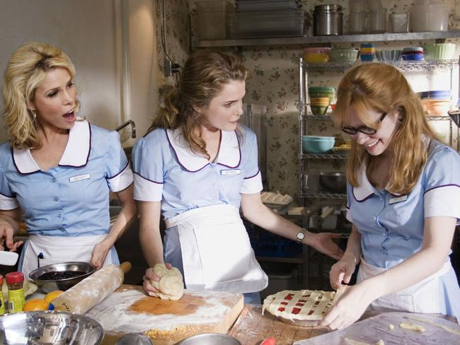 Russell starred with Cheryl Hines and Adrienne Shelly in the 2007 movie  <i>Waitress</i>.