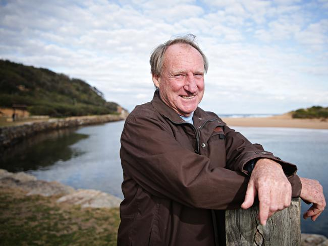Northern beaches councillor Alex McTaggart at North Narrabeen lagoon.