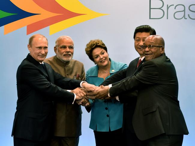The EU may have restricted Russia from funds from the European Investment Bank, but Putin has set up the New Development Bank with his BRICS leaders.