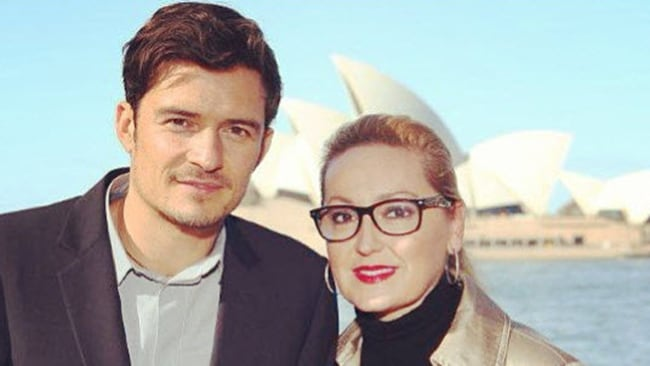 The hunky Orlando Bloom in town as the British Airways ambassador.