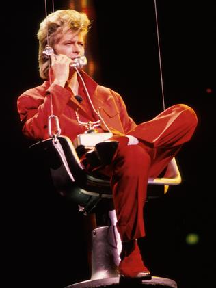 Musician greatly loved ... David Bowie performing live. Picture: Getty