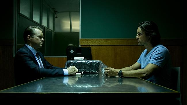 Anthony Hayes and Martin Henderson in Secrets and Lies.