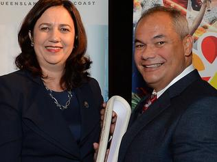 Queen's Baton Relay event ahead of the 2018 Commonwealth Games on the Gold Coast