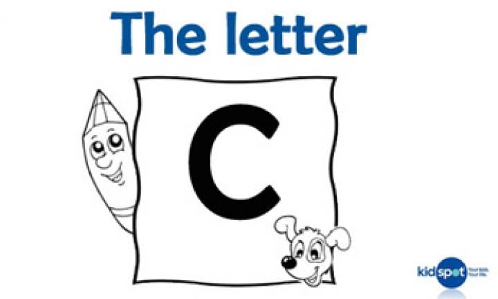 Learning the ABC: The letter C