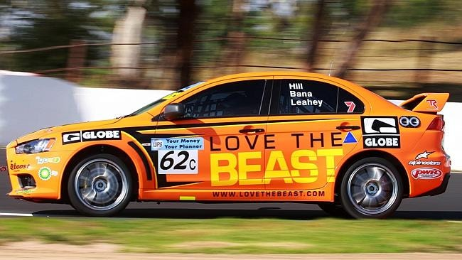 Bana finished 10th outright in the 2009 Bathurst 12 Hour.