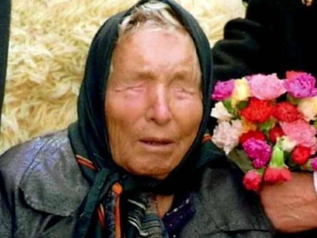 Baba Vanga predicted many thinks which have come true including the emergence of Islamic State. Picture: Supplied