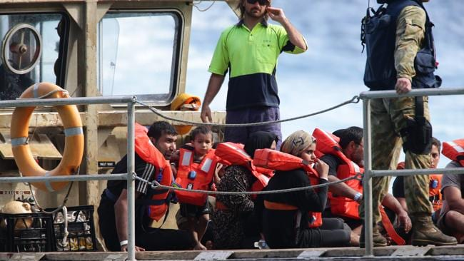 """Hanson-Young was asked if she felt responsible for the """"1000 plus people drowning"""" since Labor changed its policy."""