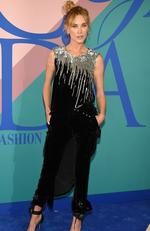 Erin Wasson attends the 2017 CFDA Fashion Awards at Hammerstein Ballroom on June 5, 2017 in New York City. Picture: Dimitrios Kambouris/Getty Images/AFP