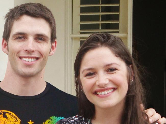 Missing man Daniel O'Keeffe and his sister Loren.