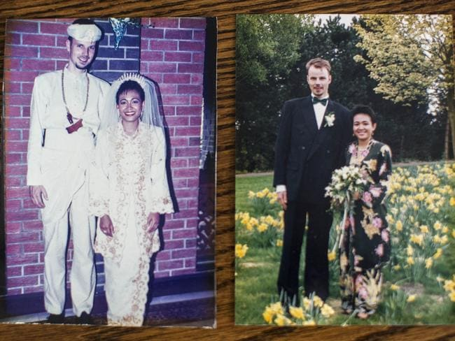 Two weddings ... Hans Van Den Hende marries his wife Sharliza Dewa in Malaysia and the Netherlands.