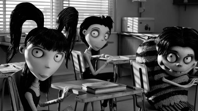 See Frankenweenie at Doggie and Deckchair at QV Cinema.