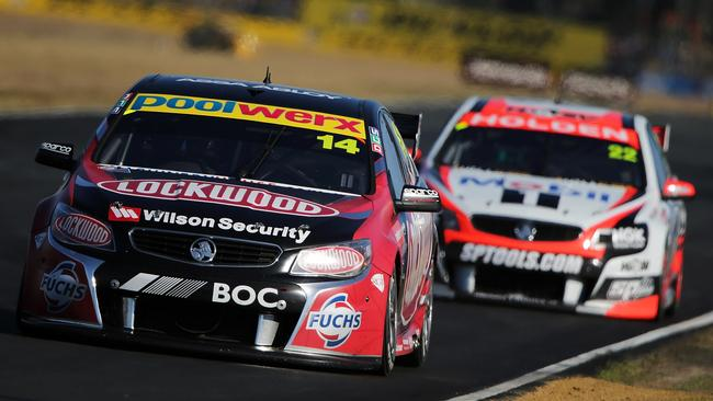 Coulthard slipped to fifth in the standings after Ipswich.