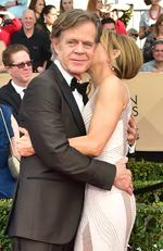 William H. Macy and Felicity Huffman arrive for the 23rd Annual Screen Actors Guild Awards at the Shrine Exposition Center on January 29, 2017, in Los Angeles, California. Picture: AFP