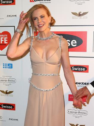 Nicole Kidman at the Celebrate Life Ball at Grand Hyatt Melbourne