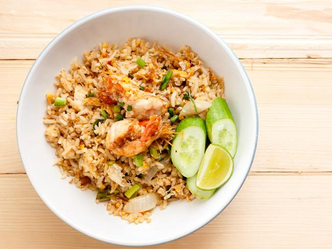 Nasi goreng is the perfect dish to use up your festive leftovers