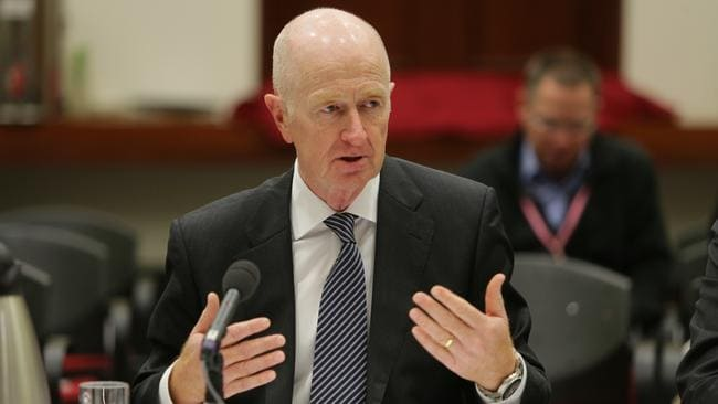 Only so much interest rates can do ... RBA governor Glenn Stevens addresses a House of Representatives economic committee.
