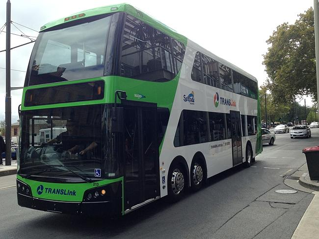 Double-decker bus trial hits streets