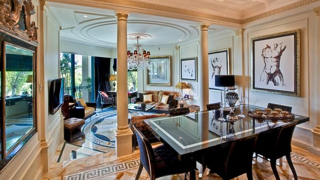 The Palazzo Versace condo of medico Geoffrey Edelsten is up for auction.