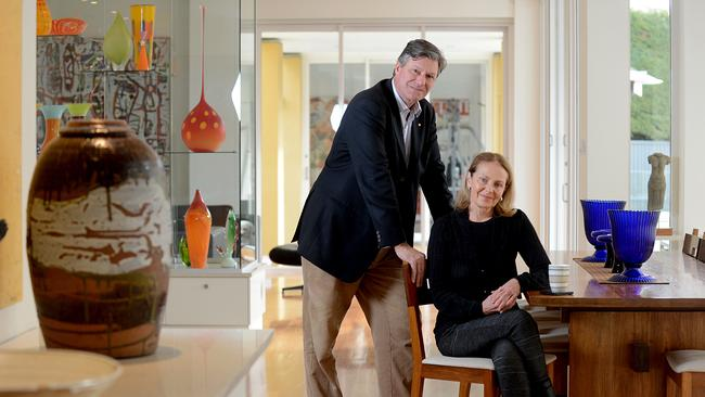 British consul general James Bruce and his wife Diana are selling their College Park home. Picture: Sam Wundke.