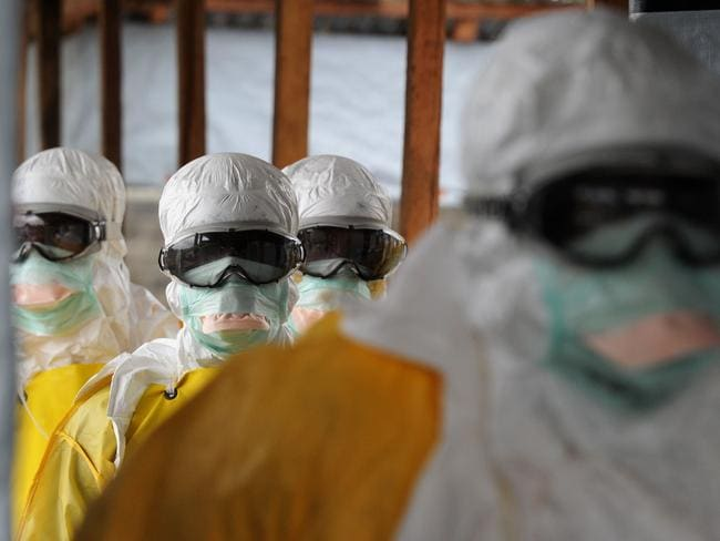 Liberia has been hardest-hit by the Ebola virus raging through west Africa, with 624 deaths and 1,082 cases since the start of the year. Picture: Dominique Faget