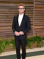 Actor Simon Baker attends the 2014 Vanity Fair Oscar Party. Picture: Getty