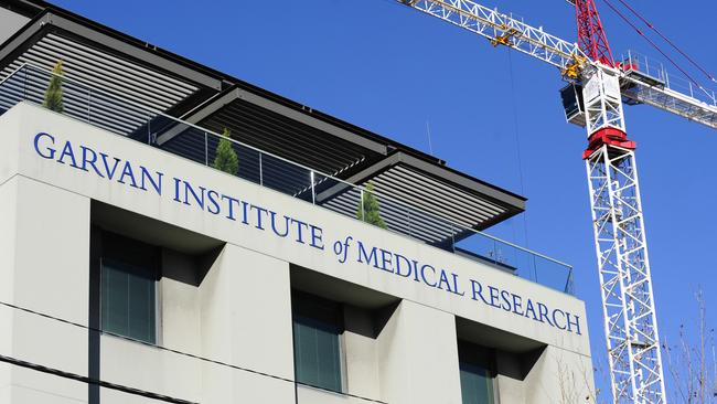 Losing money ... the Garvan Institute of Medical Research in Sydney.