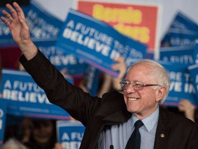 Senator Bernie Sanders hopes to repeat his Michigan success in Ohio and Florida. Picture: Sean Rayford/Getty Images/AFP.