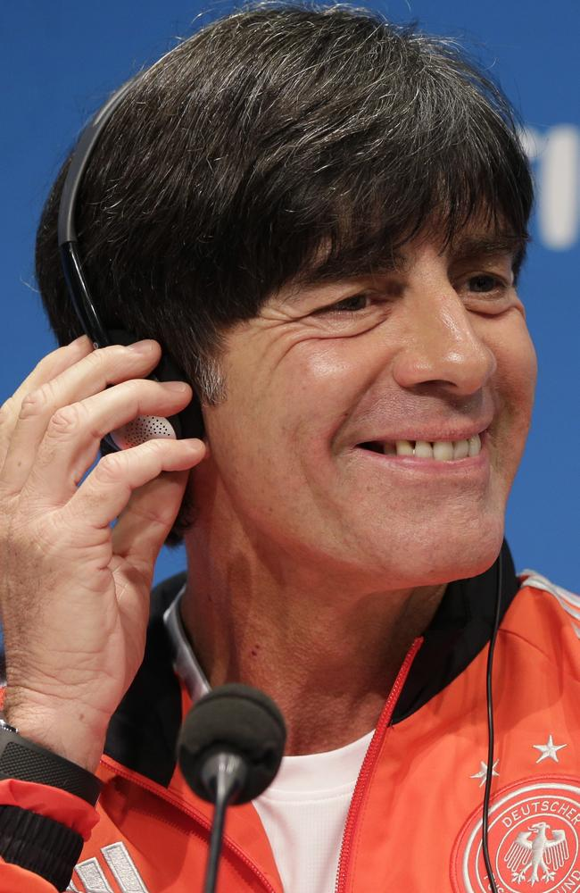 Germany's coach, Joachim Loew.